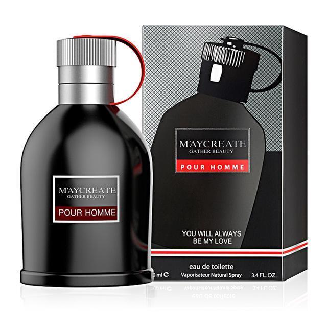 [ Trợ giá chai 100ml ] Nước Hoa Nam Cao Cấp Gather Beauty Pour Home _  Bản lĩnh phái mạnh ( Màu đen ) nhập khẩu