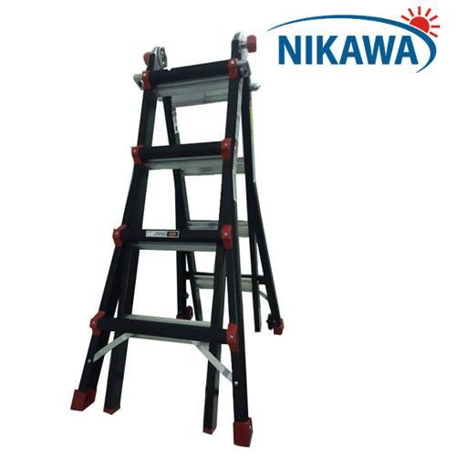 Thang nhôm gấp đa năng Nikawa NKB-44 [Gian hàng uy tín]