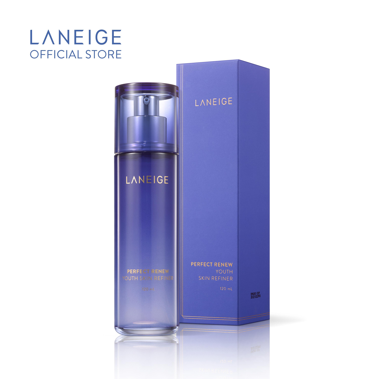 Nước Cân Bằng Ngăn Ngừa Lão Hoá Da Laneige Perfect Renew Youth Skin Refiner 120Ml