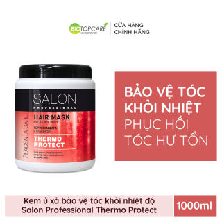 Kem ủ Salon Professional bảo vệ tóc khỏi các tác động nhiệt 1000ml - BioTopcare Official thumbnail