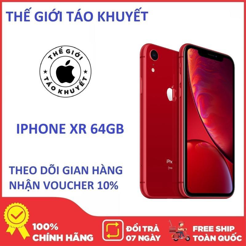 Điện thoại IPHONE XR 64G - RAM 3G - Chip Apple A12 - Bảo hành 12 tháng - Hàng chính Hang - Thế Giới Táo Khuyết