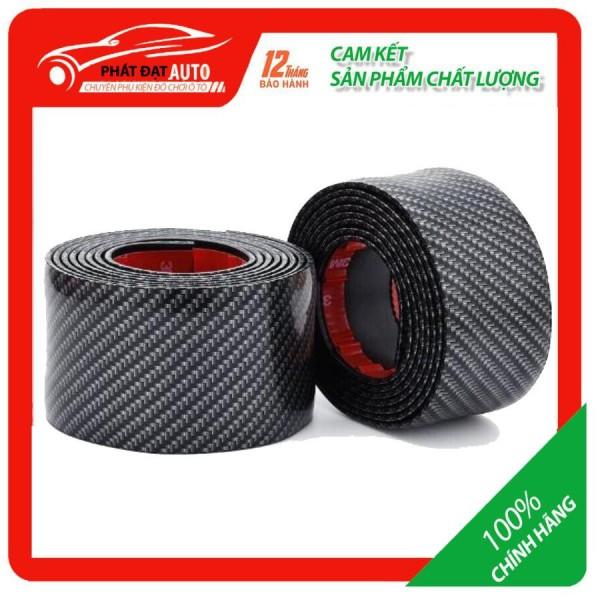 Nẹp carbon,nẹp cacbon trang trí,chống xước cho xe ô tô  cuộn 1m