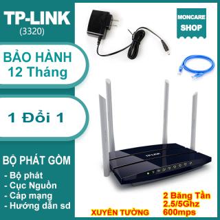 Bạn sẽ tiết kiệm được hơn 300k khi sử dụng sản phẩm bộ phát wifi tplink 4 dâu , Cục phát WiFi TP LINK 4 râu băng tần kép , tốc độ cao, xuyên tường, cắm vào là dùng ngay - Bảo hành 12 tháng. thumbnail