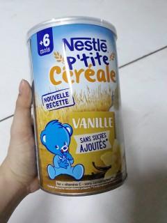 Bột ngũ cốc pha sữa Nestle 6M+ 400g - vị vani thumbnail