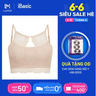 Áo ngực mút mỏng không gọng ren dạng yếm hở lưng iBasic BRAY028 thumbnail