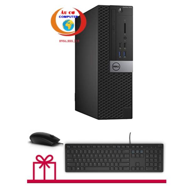 Bảng giá Thùng máy tính đồng bộ Dell Optiplex 3040 ( Core i3 - 6100  / Ram 16Gb / SSD 120GB ) - Tặng bàn phím chuột - Bảo hành 12 tháng - Hàng Nhập Khẩu Phong Vũ