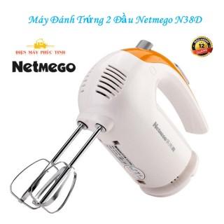 Máy đánh trứng cầm tay, Máy Đánh Trứng Netmego N38D-534 300W. Máy Đánh Trứng Nhào Bột Cầm Tay Đa năng Netmego N38D-534 300W, Chất Lượng Tốt, Dễ Sử Dụng. thumbnail