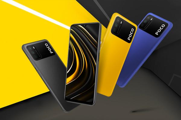 Điện thoại POCO M3 ( 4GB/64GB ) - Hàng chính hãng DGW - Bảo hành 12 tháng