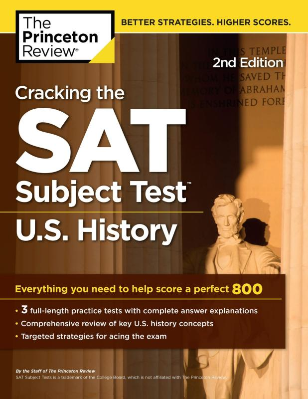 Mua Cracking the SAT Subject Test in U.S. History, 2nd Edition