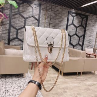 Túi xách nữ 2021 thời trang hàn quốc đẹp, túi đeo chéo giá rẻ da thêu ô khóa bấm NM30 thumbnail