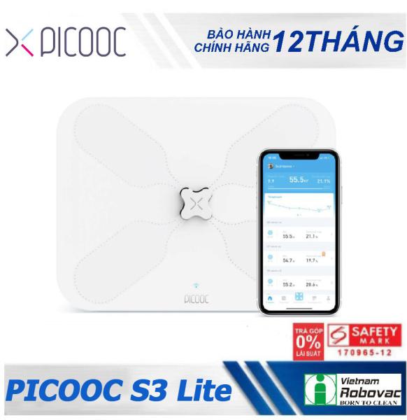 Cân sức khỏe thông minh PICOOC S3 lite - Bảo hành 12 tháng - kết nối Wifi