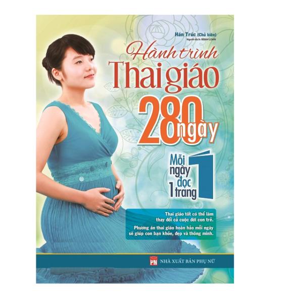 Mua Sách - Hành Trình Thai Giáo 280 Ngày Tặng Kèm Bookmark