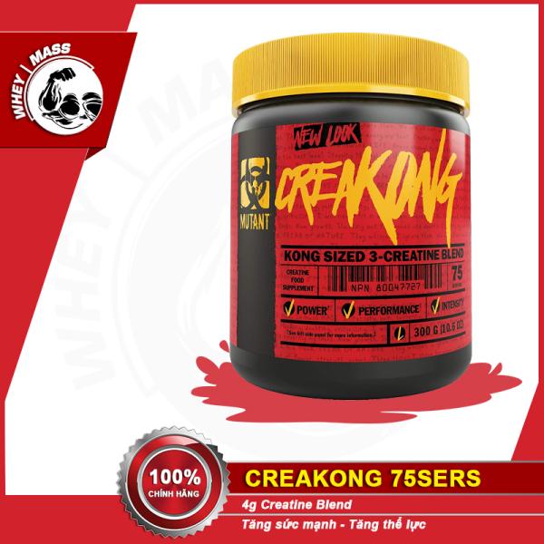 Bột Uống Tăng Sức Mạnh Giảm Mệt Mỏi Creatine Mutant Creakong 75 Lần Dùng 300g Từ USA - Từ Châu ÂU