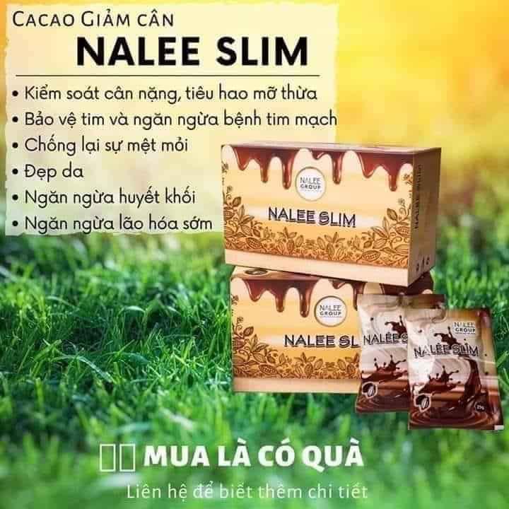 Giá Sốc Duy Nhất Hôm Nay Khi Mua Giảm Cân Cacao Nalee Slim