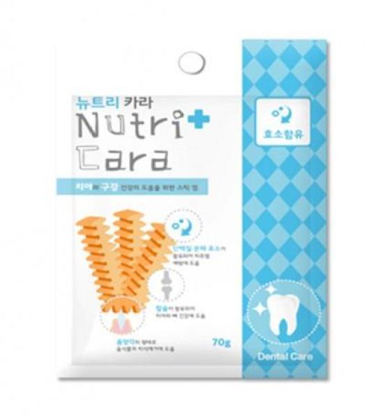 Snack Chiết xuất Nấm Men Enzyme Tốt Cho Hệ Tiêu Hóa Của Chó Nutricara Hàn Quốc 70gr