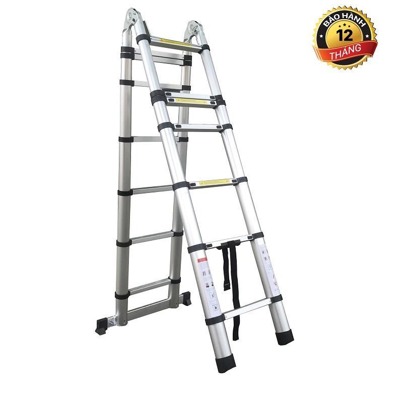 Thang Nhôm Rút Chữ A Ladder Yokota Chiều Cao 5m