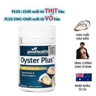 01 Hộp 60 viên - Tinh chất hàu New Zealand Good Health Oyster Plus tăng cường sinh lý nam giới olostore thumbnail
