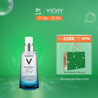 Dưỡng chất (Serum) khoáng phục hồi chuyên sâu Vichy Mineral 89 (Dành cho mọi loại da) 50ML