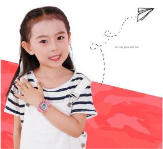 [MIỄN PHÍ GIAO HÀNG] Đồng hồ trẻ em đa chức năng kết hợp hiệu ứng đèn Lex 7 màu chính hãng Coobos 4