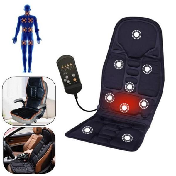 Ghế đệm massage bi hồng ngoại Nhật Bản - Ghế masage - Ghế massa toàn thân cao cấp thế hệ mới với công nghệ nhiệt hiện đại.