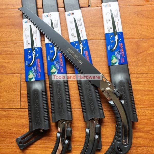 Cưa gỗ cầm tay 350mm Barker lưỡi đen và trắng có thể mua kèm lưỡi thay thế, Cưa gỗ tiêu chuẩn Nhật Bản có bao đựng, Cua go, Cưa gổ, Cưa cây, cưa gô, cưa gỗ cầm tay nhật, cưa cây cầm tay, cưa tay mini, cưa tay gỗ