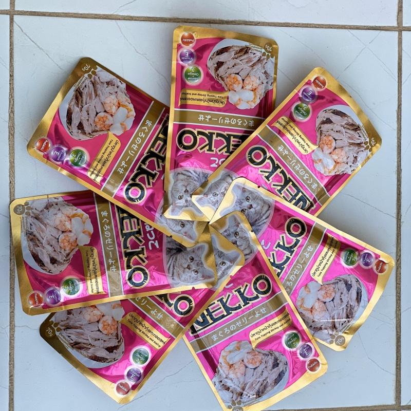Combo 12 gói Pate Nekko cho mèo mix đủ vị- có thể chọn combo
