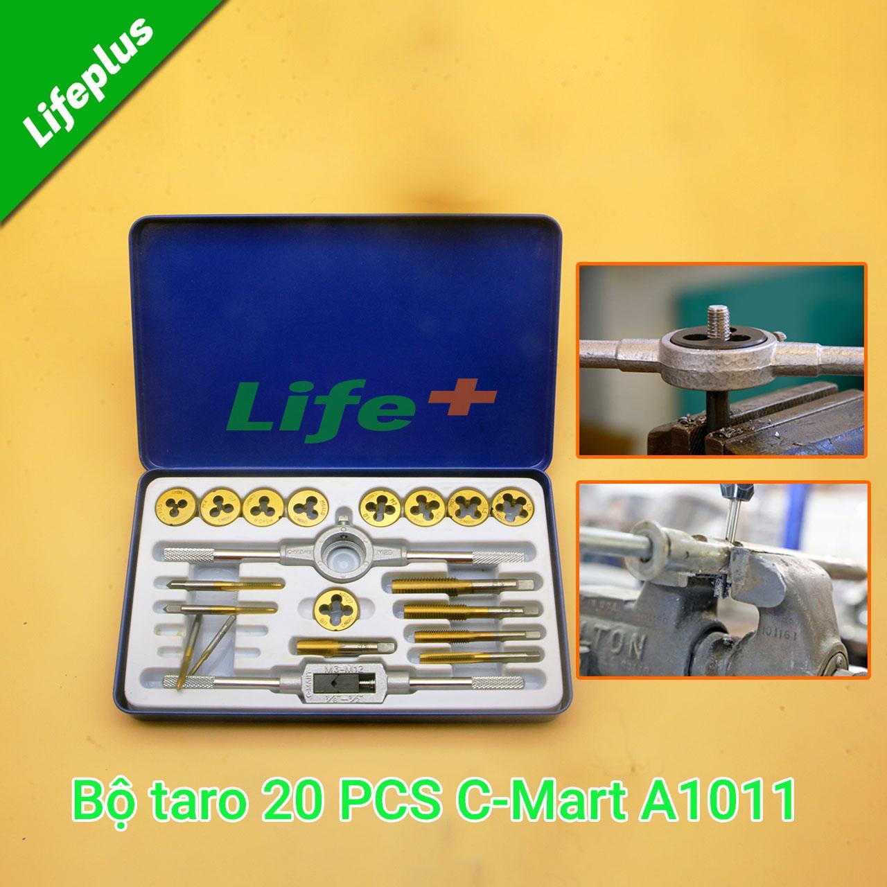 Bộ taro tạo ren 20 chi tiết C-mart A1011