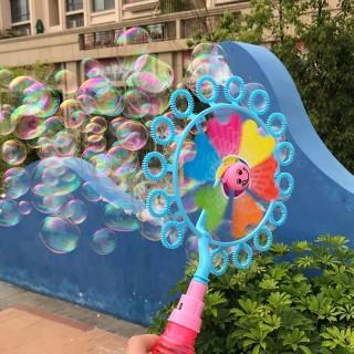 Cây chong chóng thổi bong bóng xà phòng màu sắc ngẫu nhiên thumbnail
