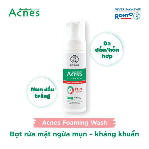 Dung dịch tạo bọt ngăn ngừa mụn Acnes Foaming Wash 150ml