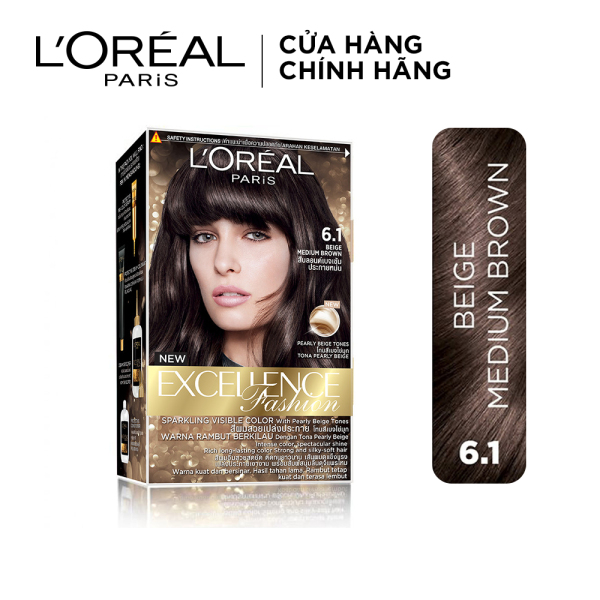 Kem nhuộm dưỡng tóc LOreal Paris Excellence Fashion 172ml cao cấp