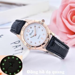 Đồng hồ đeo tay nữ đính đá thời trang, dạ quang ban đêm cao cấp, hàng siêu hot 2019. thumbnail