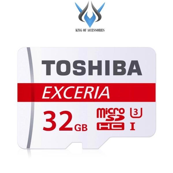 Thẻ nhớ MicroSDXC Toshiba Exceria M302 32GB U3 4K 90MB/s (Đỏ) - Phụ Kiện 1986