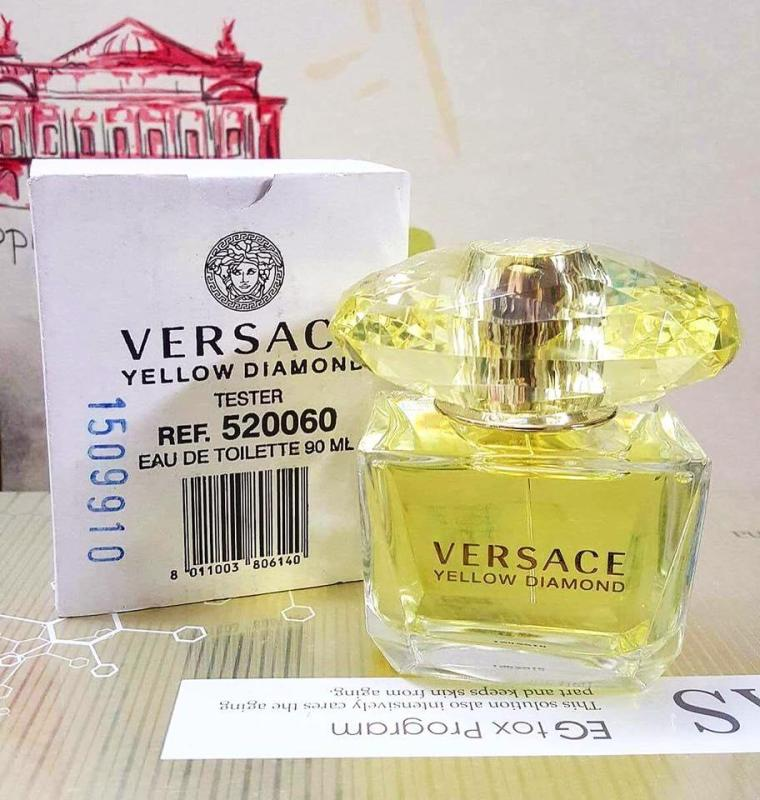 Nước Hoa Nữ Versace Yellow Diamond (Tester) 90ml