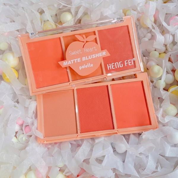 Má hồng 3 ô HengFei Sweet Heart giá rẻ