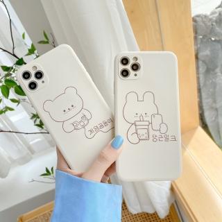 Ốp lưng iphone cạnh vuông Gấu game dành cho iphone 6 đến 12promax e05 shincase thumbnail