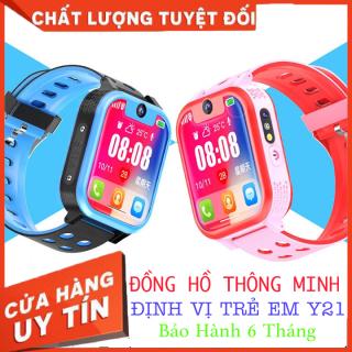 Đồng hồ định vị thông minh Y21 dành cho trẻ em. Kết nối điện thoại, gắn sim, thẻ nhớ, cuộc gọi khẩn cấp, nhắn tin, nghe nhạc, báo thức. Bảo hành 6 tháng thumbnail