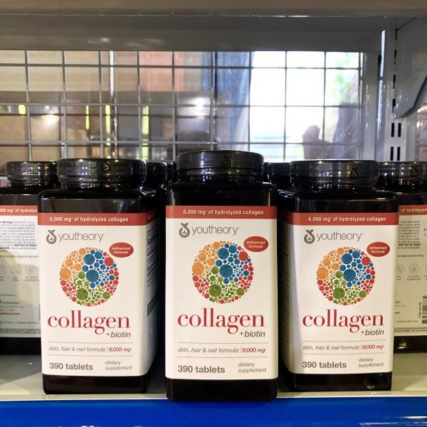 Viên Uống Collagen Youtheory 390 Viên- DATE 2022( MẪU MỚI 2020) nhập khẩu