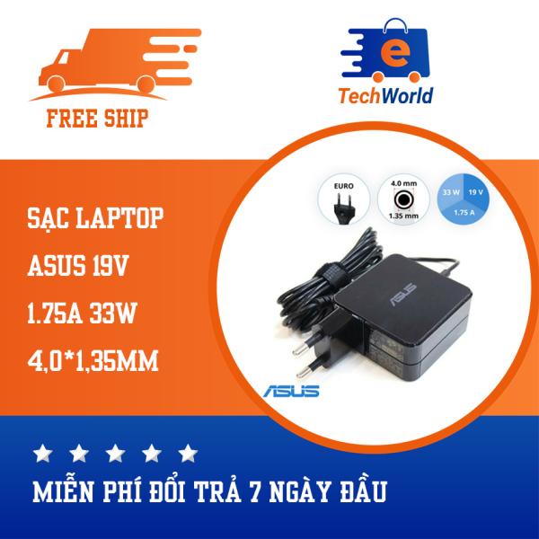 Bảng giá Sạc laptop dùng cho Asus X540 X540L X540LA X540S X540SA, hình vuông 19V1.75A 33W kích thước chân sạc 4.0mm * 1.35mm Phong Vũ