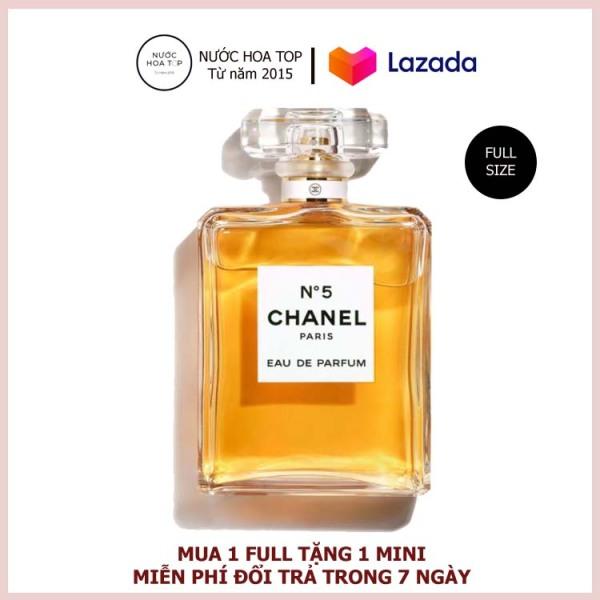 Nước Hoa Chanel N°5 vàng EDP chính hãng lưu hương 12h