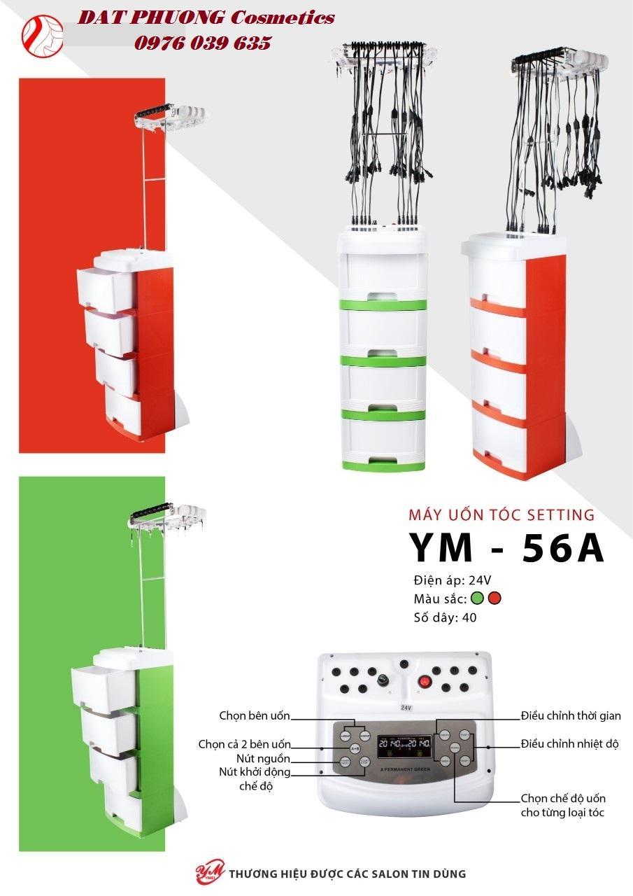 Máy uốn tóc setting YM-56 . 40 dây