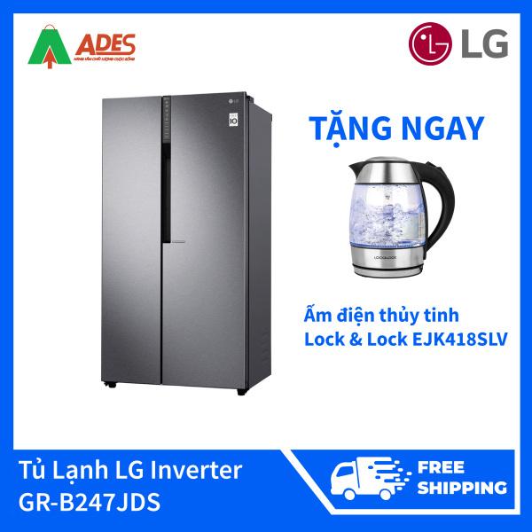 Tủ Lạnh LG Inverter 679 Lít GR-B247JDS