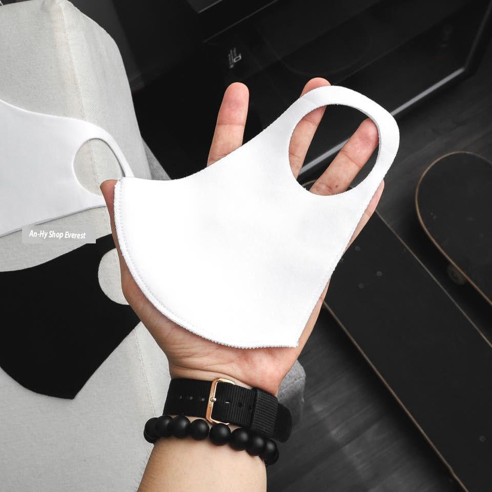 Combo 2 Khẩu Trang Vải su Hàn Quốc kháng khuẩn, lọc bụi, mềm mịn, thoáng mát (có thể giặt tái sử dụng nhiều lần)