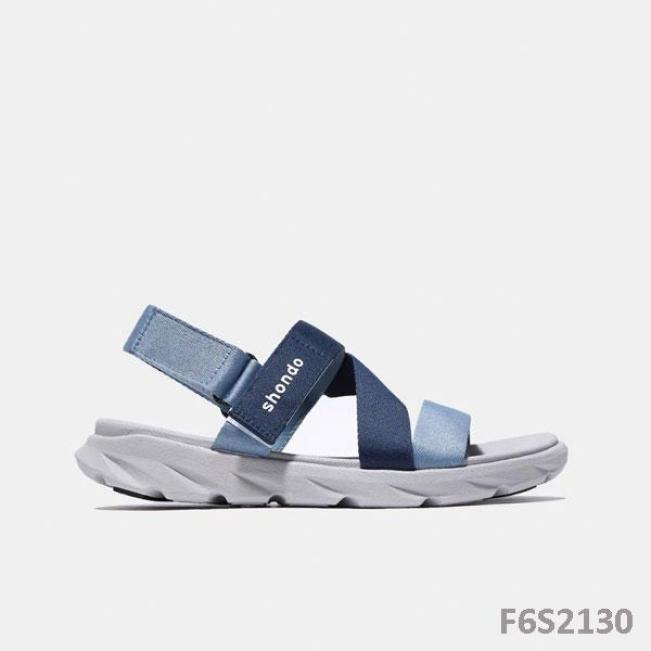 Giày Sandal Shondo đế xám ombre xanh dương F6S2130 giá rẻ