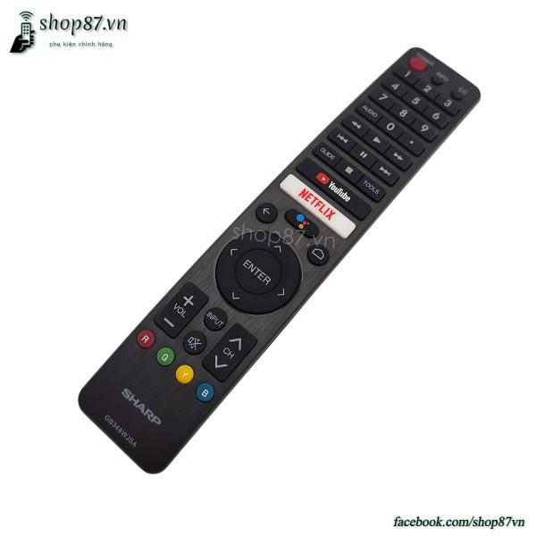 Bảng giá Điều khiển tv Sharp giọng nói chính hãng GB346WJSA