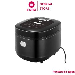 Nồi cơm tách đường điện tử Mishio MK194 5L – màu đen, thiết kế nồi cơm hiện đại, sang trọng và rất gọn gàng