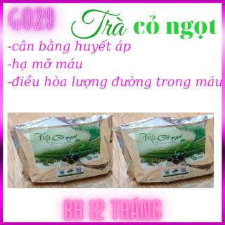 SỨC KHỎE Trà cỏ ngọt cao cấp Stevia chính hãng GO29, 100% organic, có lợi cho sức khỏe, tăng hệ miễn dịch cho cơ thể, giúp cân bằng huyết áp, điều hòa lượng đường trong máu, hạ mỡ máu, gói 100 gram GO001 thumbnail