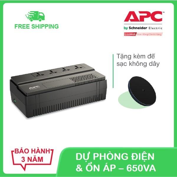 Bảng giá Bộ lưu điện APC Easy UPS BV650I-MS 650VA, 230V & ổn áp Phong Vũ