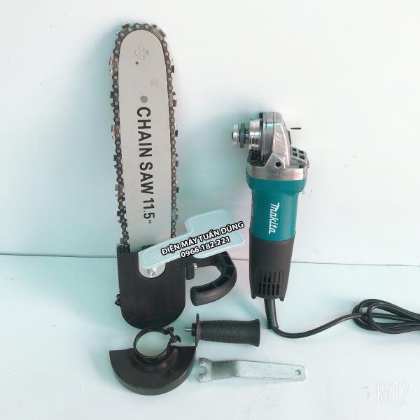 Máy cắt cầm tay Makita TẶNG KÈM 01 bộ lưỡi cưa xích cắt gỗ