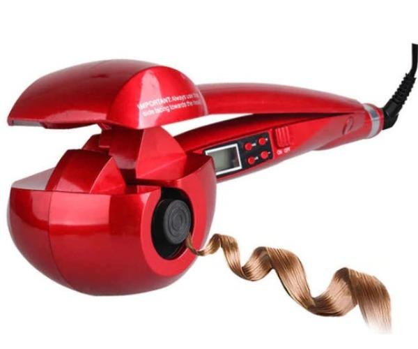 Máy uốn tóc LCD Pro Salon , Tự động uốn tóc Con lăn bằng thép uốn tóc Titan Sóng làm nóng Máy tạo kiểu tóc. giá rẻ