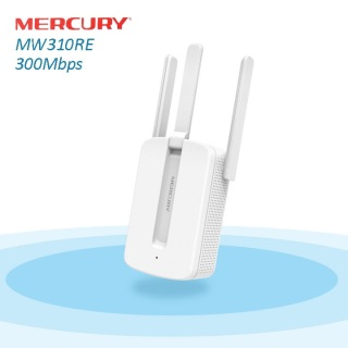 Thiết bị kích sóng WI-FI Mercury MW310RE 3 râu cắm trực tiếp điện 220V thumbnail